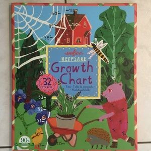 Colourful Hanging Children's Growth Chart, New
